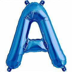 Balon folie litera A albastru - 41cm, Northstar Balloons 00531