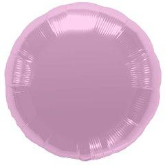 Balon folie pastel pink metalizat rotund - 45cm, Northstar Balloons 00735