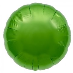 Balon folie lime green metalizat rotund - 45cm, Northstar Balloons 00740