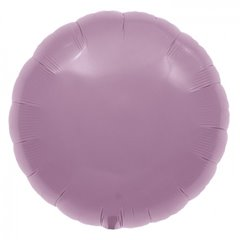 "Metallic Lilac Circle Foil Balloon - 18""/45 cm, Northstar Balloons 00744, 1 piece"