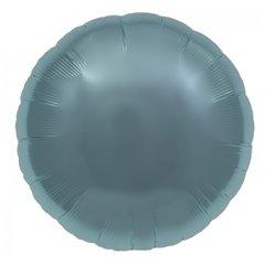 Balon folie pastel blue metalizat rotund - 45 cm, Northstar Balloons 007369, 1 buc