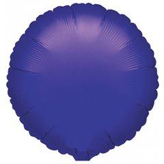 "Metallic Violet Circle Foil Balloon - 18""/45 cm, Amscan 21616, 1 piece"