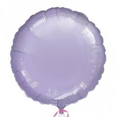 Balon folie lila metalizat rotund - 45cm, Amscan 21628