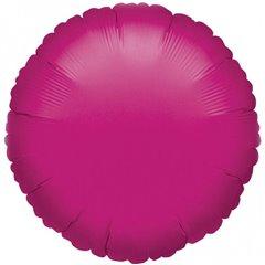 Balon folie fucsia metalizat rotund - 45cm, Amscan 21610