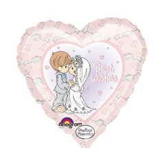 "Precious Moments Best Wishes Foil Balloons - 18""/45cm, Amscan 12545"