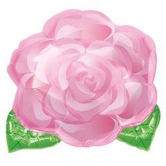 Balon folie figurina trandafir roz - 45cm, Amscan 12092