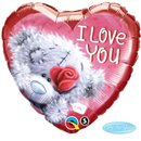 "Me To You Tatty Teddy I Love You Foil Balloon, Qualatex, 18"", 20811"