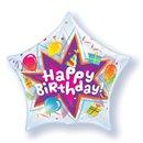 "Birthday Party Blast Bubble Balloon - 22""/56cm, Qualatex 36765, 1 piece"