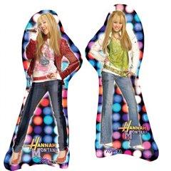 Balon folie figurina Hannah Montana - 89x36cm, Amscan 16810