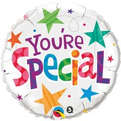 "Qualatex 18"" Round You're Special Stars Foil Balloon, 33341"