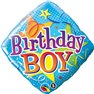 Balon Folie 45 cm, Qualatex, Birthday Boy, 34434
