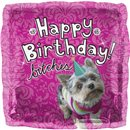 "Happy Birthday Dog Foil Balloon - 18""/45cm, Northstar Balloons 00912"
