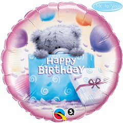 "Me to You Birthday Present Foil Balloon - 18""/45cm, Qualatex 20743"