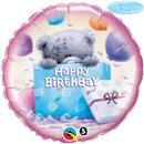 Balon Folie 45 cm Me to You - Birthday Present, Qualatex 20743