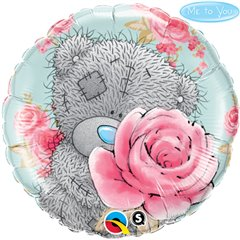 "Me to You Birthday Roses Foil Balloon - 18""/45cm, Qualatex 20760"