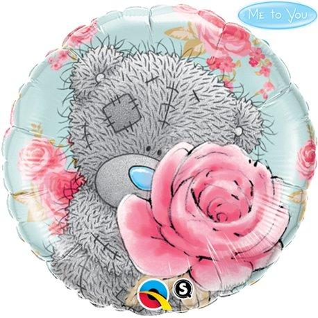 Balon Folie 45 cm Me to You - Birthday Roses, Qualatex 20760