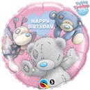 "Balon Folie 45 cm Me to You - ""Happy Birthday"", Qualatex 20723"