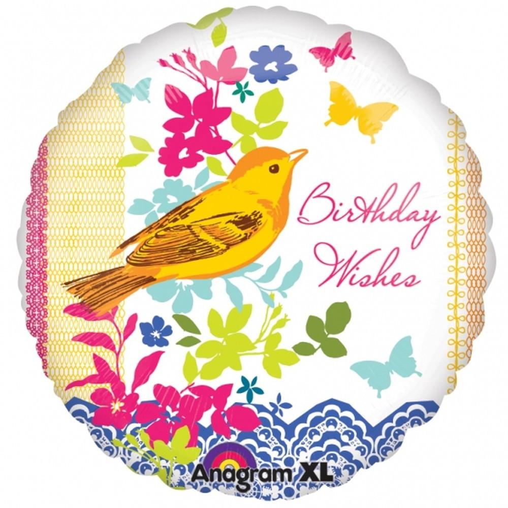 Время, открытки с птичками на день рождения