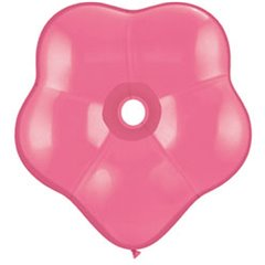 "6"" Rose GEO Blossom Latex Balloons, Qualatex 87163, Pack of 100 pieces"