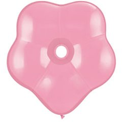 "Balon latex floare, GEO Blossom 16"", Pink, Qualatex 37804"