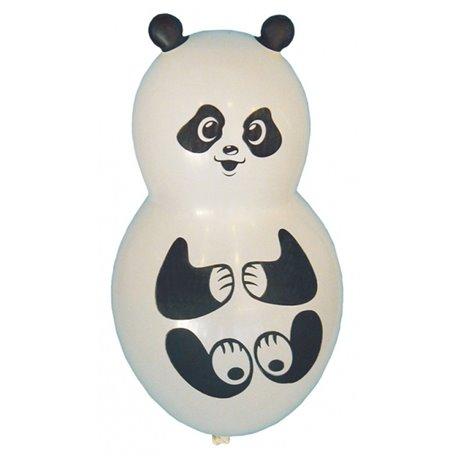 Baloane figurine latex mici - Panda, 40 cm, Albe, Amscan 450030, set 4 buc