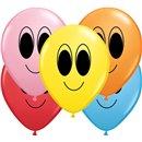 "5"" Printed Latex Balloons, Google Eyes Asortate, Qualatex 93651, Pack of 100 Pieces"