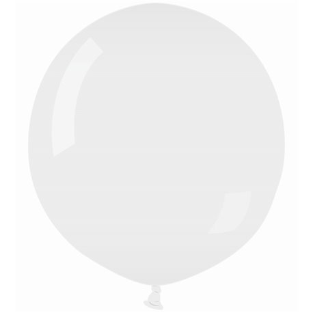 White 01 Jumbo Latex Balloon , 39 inch (100 cm), Gemar G300.01, 1 piece