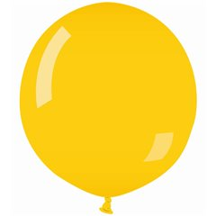Balon Latex Jumbo 100 cm, Galben 02, Gemar G300.02, 1 buc