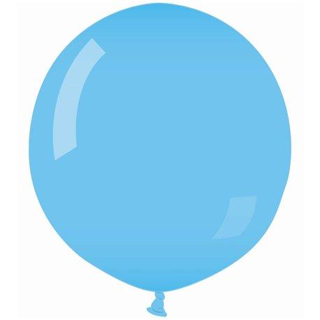 Balon Latex Jumbo 100 cm, Albastru Deschis 09, Gemar G300.09, 1 buc