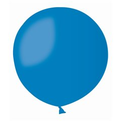 Blue 10 Jumbo Latex Balloon , 39 inch (100 cm), Gemar G300.10, 1 piece