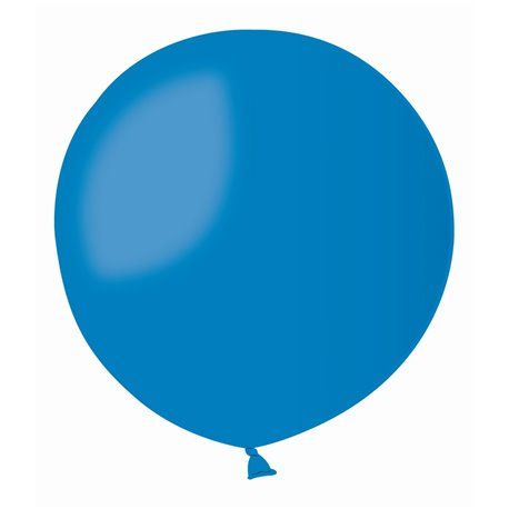 Blue 10 Jumbo Latex Balloon , 39 inch (100 cm), Gemar G300.10, 1 piece