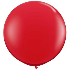 "Balon latex Jumbo 39"" (1 m) Red, Amscan 991392,1 buc"