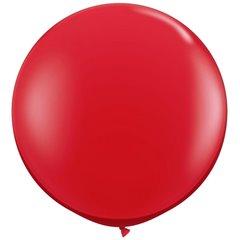 Red Jumbo Latex Balloon, 39 inch (100 cm), Amscan 991392, 1 piece