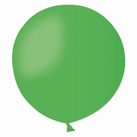 Balon Latex Jumbo 48 cm, Verde 12, Gemar G150.12, set 50 buc