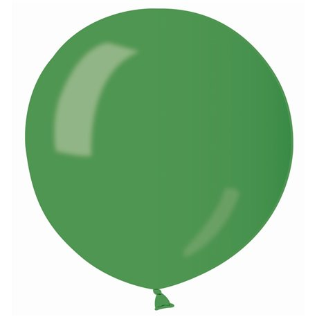 Balon Latex Jumbo 80 cm, Verde 37 Sidefat, Gemar GM220.37, set 25 buc