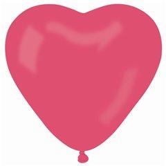 Balon Jumbo latex in forma de inima, Diametru 54 cm, Rosu 05, Gemar CR2.05, 1 buc