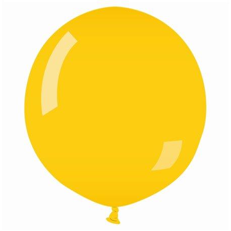 Yellow 02 Jumbo Latex Balloon, 30 inch (75 cm), Gemar G200.02, 1 piece