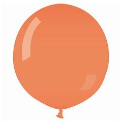 Orange 04 Jumbo Latex Balloon, 30 inch (75 cm), Gemar G200.04, 1 piece