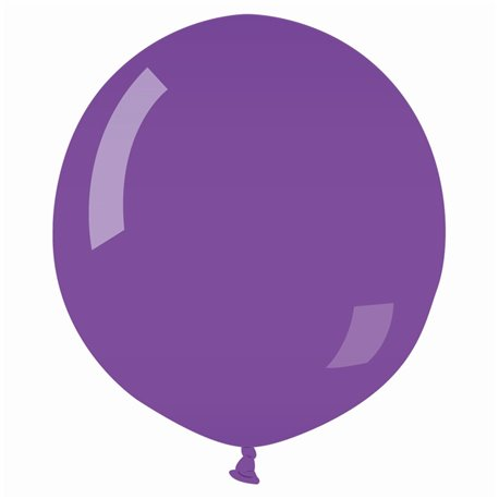 Balon Latex Jumbo 75 cm, Purple 08, Gemar G200.08, 1 buc
