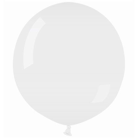 Balon Latex Jumbo 90 cm, Alb 01, Gemar G250.01, 1 buc