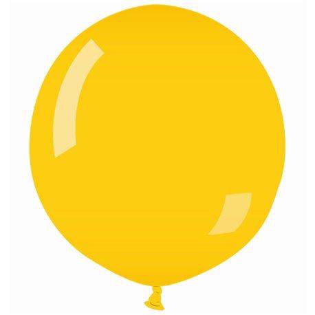 Balon Latex Jumbo 90 cm, Galben 02, Gemar G250.02, 1 buc