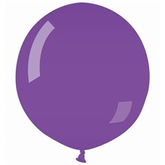 Purple 08 Jumbo Latex Balloon , 35 inch (90 cm), Gemar G250.08, 1 piece