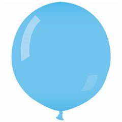 Light Blue 09 Jumbo Latex Balloon , 35 inch (90 cm), Gemar G250.09, 1 piece
