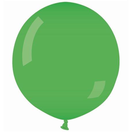 Green 12 Jumbo Latex Balloon , 35 inch (90 cm), Gemar G250.12, 1 piece