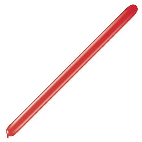 """Baloane Latex Modelaj Pearl Ruby Red, 2"""" x 60"""", Qualatex 260Q 22943, set 100 buc"""