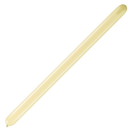 "Baloane Latex Modelaj Ivory Silk, 2"" x 60"", Qualatex 260Q 11575, set 100 buc"