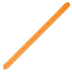 "Baloane Latex Modelaj Orange, 1"" x 60"", Qualatex 160Q 88349, set 100 buc"