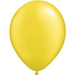 Pearl Citrine Yellow Latex Balloon, 11 inch (28 cm), Qualatex 43771
