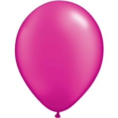 Pearl Magenta Latex Balloon, 11 inch (28 cm), Qualatex 99350, Pack of 100 pieces