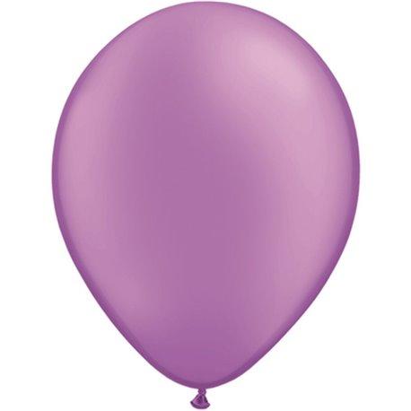 Balon Latex Neon Violet 11 inch (28 cm), Qualatex 74576, set 100 buc